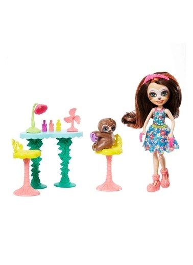 Enchantimals Bebekleri Piknikte Oyun Seti FCC62-GFN54 Renkli